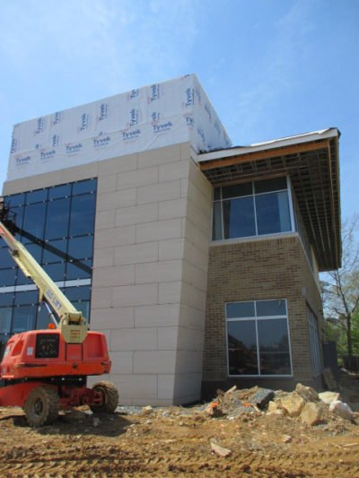 Maryland Mixed-Use Development Using Trimstone Lightweight Exterior Stone Panel System