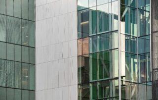 Trimstone Natural Stone Lightweight Panels Create Modern Exterior at University of Texas