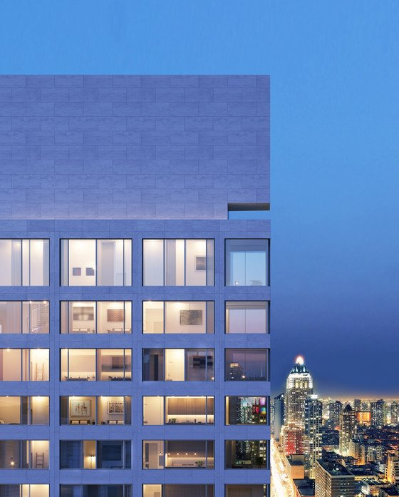 Aerial Picture of 611 West 56th Street.