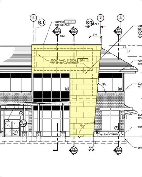 Maryland Mixed-Use Development Using Trimstone Lightweight Exterior Stone Panel System